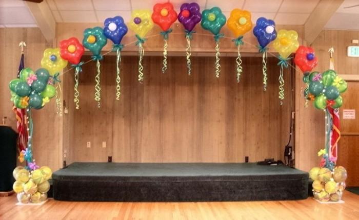 Поделки для украшения зала на новый год